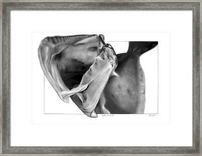 Flounder - Into The Maw Framed Print
