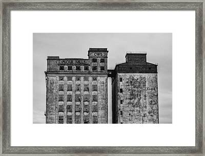 Flour Mills Framed Print by Andrew Menzies