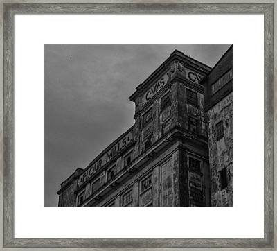Flour Mills II Framed Print by Andrew Menzies