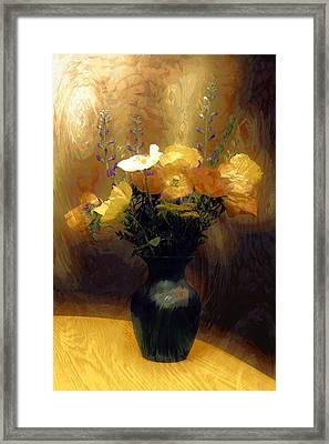 Flourish  Framed Print by Aaron Berg