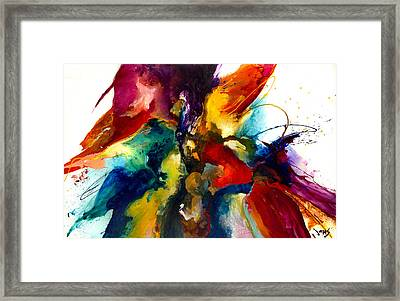Flourish IIi Framed Print