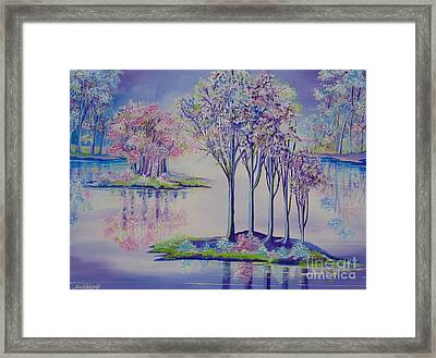 Flourish Framed Print