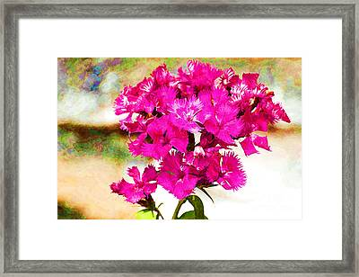 Framed Print featuring the photograph Flourish by Yew Kwang