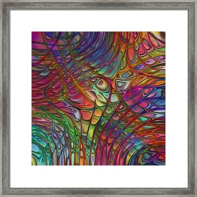 Flow 14 Framed Print