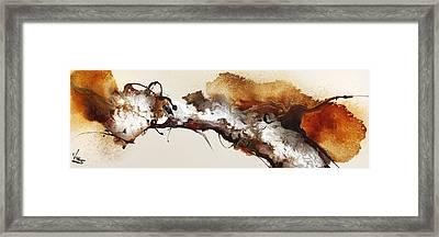 Flow #164 Framed Print by Jonas Gerard