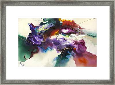 Flow #175 Framed Print by Jonas Gerard