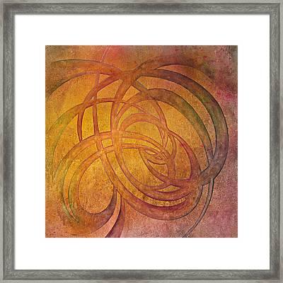 Flow #4 Framed Print