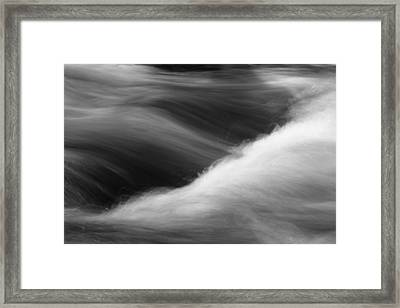 Framed Print featuring the photograph Flow by Brad Brizek