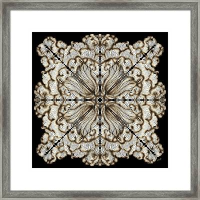 Flow Framed Print by Brenda Bryant