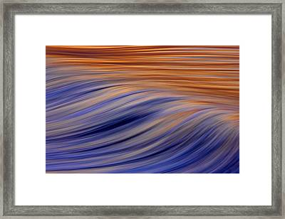 Flow  C6j7812 Framed Print