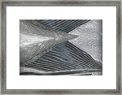 Flow Framed Print by Jack Zulli