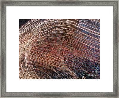 Flow Of Light 1 Framed Print