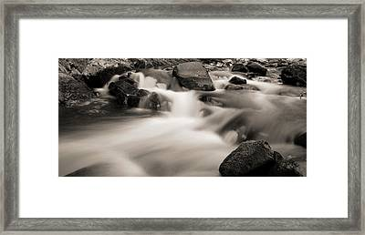 Flow Of The Cascades In Tennessee Framed Print by Dan Sproul
