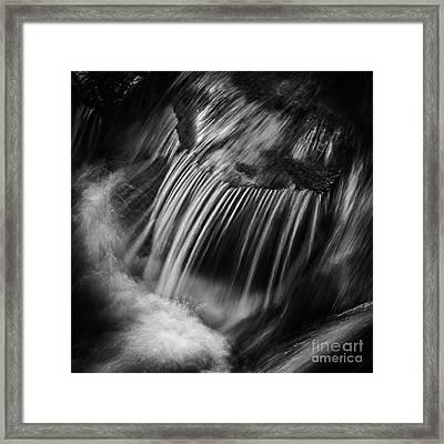 Flow Framed Print by Rod McLean