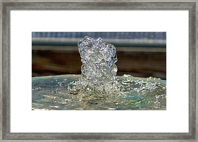Flow Water Never Sounded So Good Framed Print
