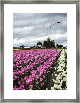 Flower Art - Spring Fever Framed Print by Jordan Blackstone
