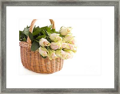 Flower Baskets Framed Print by Boon Mee