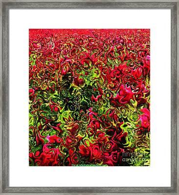 Flower Bounty Framed Print by PainterArtist FIN