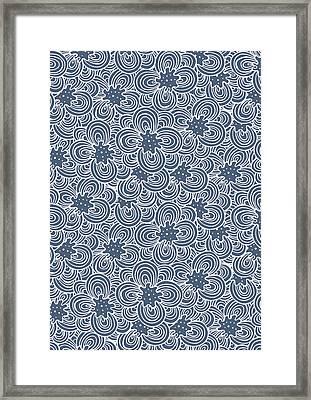 Flower Bundle Framed Print by Susan Claire