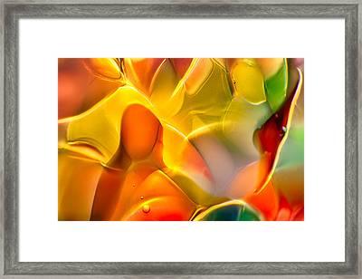 Flower Child Framed Print by Omaste Witkowski