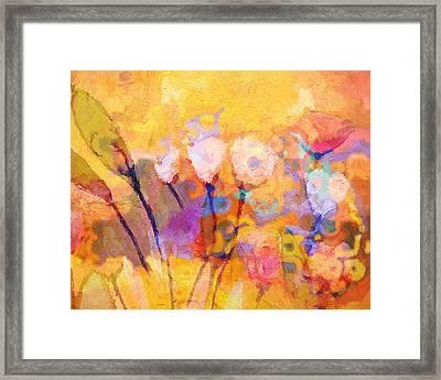 Flower Concerto Framed Print by Lutz Baar