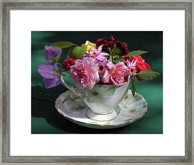 Flower Cup 1 Framed Print