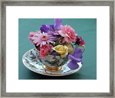 Flower Cup 2 Framed Print