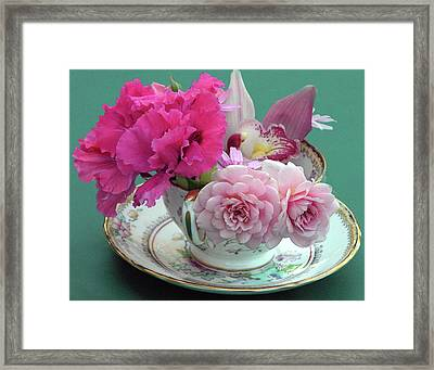 Flower Cup 4 Framed Print
