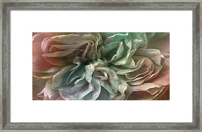 Flower Dance - Abstract Art Framed Print