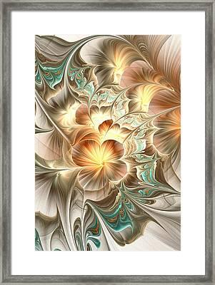 Flower Daze Framed Print by Anastasiya Malakhova