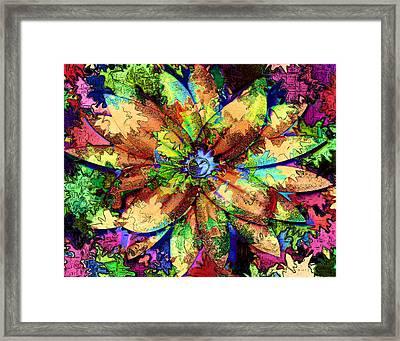 Flower Fancy Framed Print