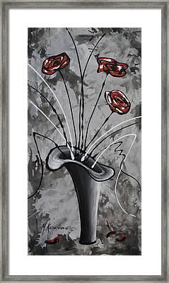 Flower Fantasy I Framed Print by Mariya Kazarinova