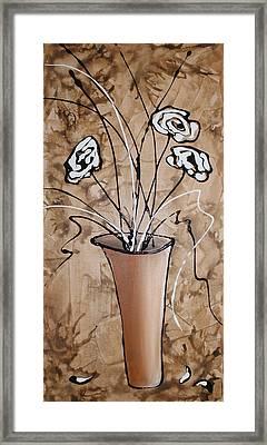 Flower Fantasy II Framed Print by Mariya Kazarinova