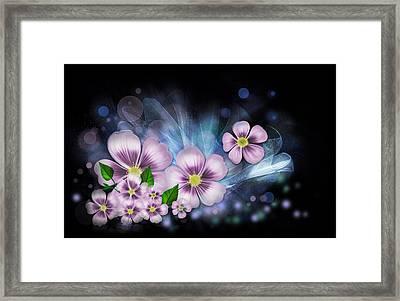 Flower Fantasy Framed Print