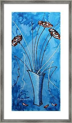 Flower Fantasy V Framed Print by Mariya Kazarinova