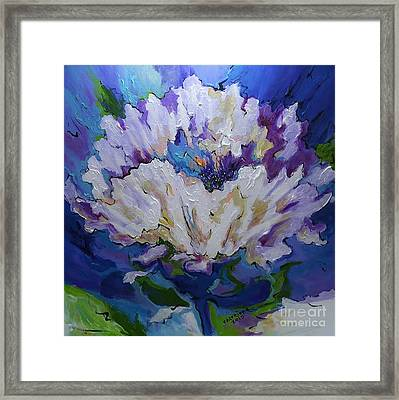 Flower For A Friend Framed Print