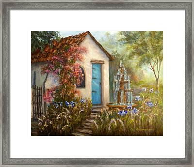 Flower Garden Paintings Framed Print