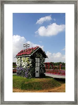 Flower Garden Framed Print by Sanjeewa Marasinghe
