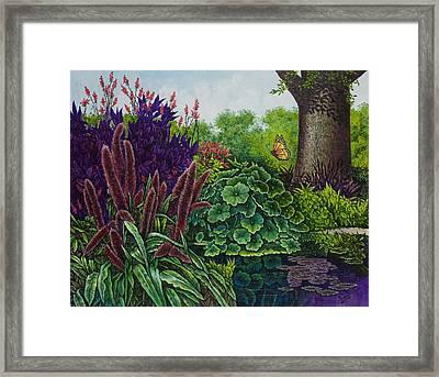 Flower Garden V Framed Print