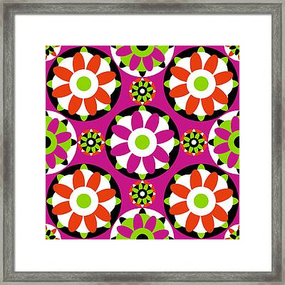 Flower Kisses Framed Print
