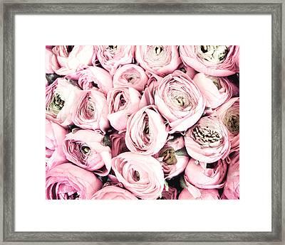 Flower Kisses Framed Print by Lupen  Grainne
