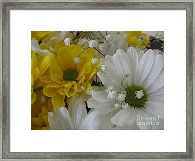 Flower Mix Framed Print