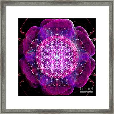 Flower Of Life No Two Framed Print