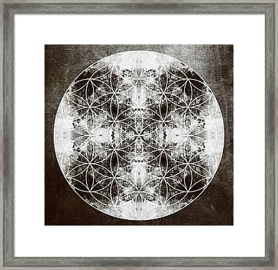 Flower Of Life S Framed Print