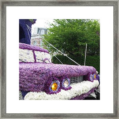Flower Parade. 03 Blumencorso Holland 2011 Framed Print by Ausra Huntington nee Paulauskaite