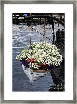 Flower Pot Framed Print by Sophie Vigneault