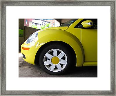 Flower Power Framed Print by Cheryl Perin