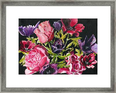 Flower Power Framed Print by John Simlett