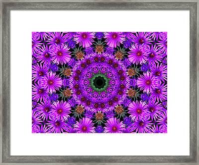 Flower Power Framed Print by Kristie  Bonnewell