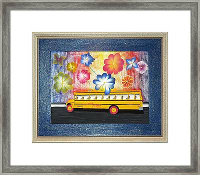 Flower Power Framed Print